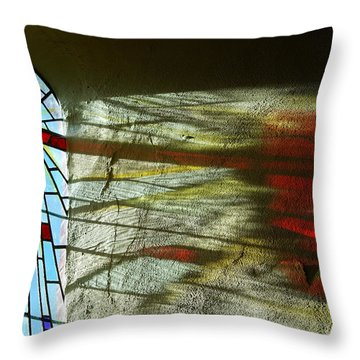 Let There Be Light Throw Pillow by Wendy Wilton