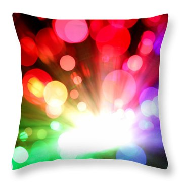 Let There Be More Light Throw Pillow