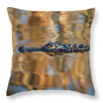 Lethal Glide Throw Pillow