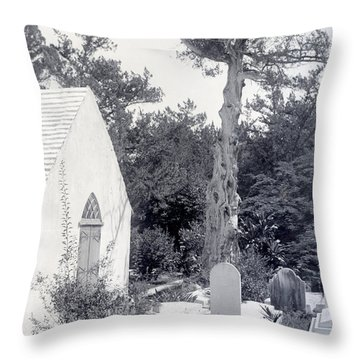 Lets Call It Creepy Throw Pillow