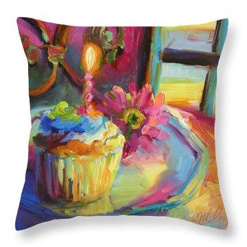 Let's Celebrate Throw Pillow