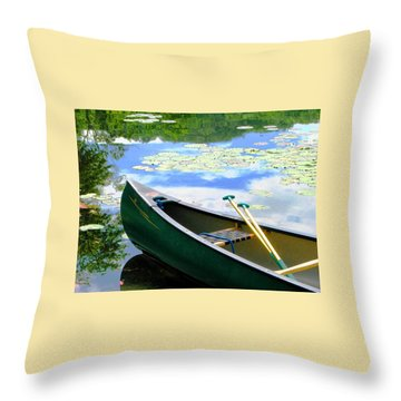 Let's Go Out In The Old Town Throw Pillow