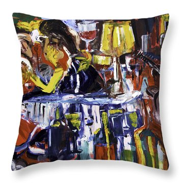 Let's Pay And Go Throw Pillow