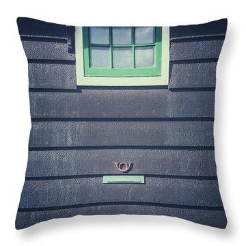 Letter Box Throw Pillow by Joana Kruse