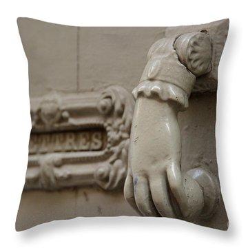 Letterbox Throw Pillow by Bernard Jaubert
