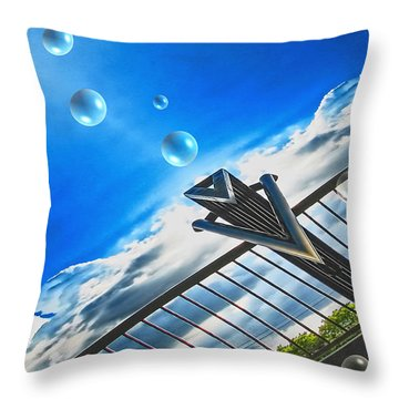 Letting Go Throw Pillow by Wendy J St Christopher