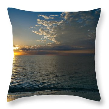 Throw Pillow featuring the photograph Letting The Light In by Melanie Moraga