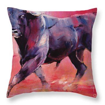 Levantado Throw Pillow by Mark Adlington