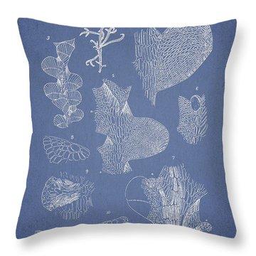 Leveillea Jungermannioides Throw Pillow by Aged Pixel
