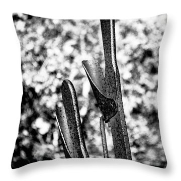 Levers Throw Pillow