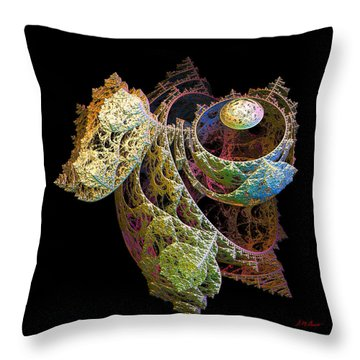 Levitation Throw Pillow by Michael Durst