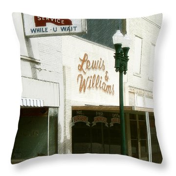 Lewis And Williams Throw Pillow