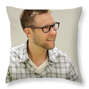 Lex Luthor Throw Pillow by Dwight Cook
