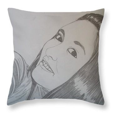 Lexi Throw Pillow by Justin Moore