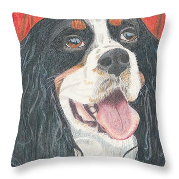 Lexie Throw Pillow by Arlene Crafton