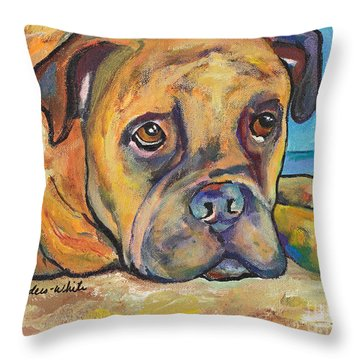 Lexie Throw Pillow by Pat Saunders-White