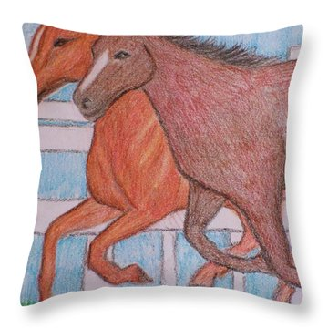 Lexington  Throw Pillow by Christy Saunders Church
