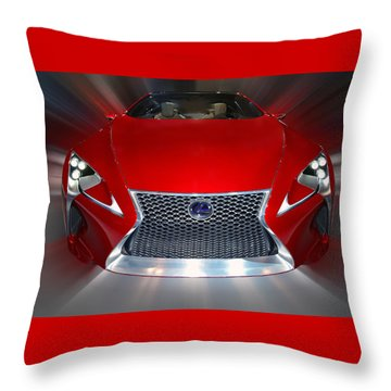 Lexus L F - L C Hybrid 2013 Throw Pillow