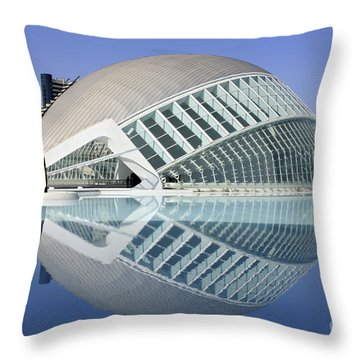 L'hemispheric Valencia Throw Pillow