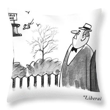 Liberals! Throw Pillow