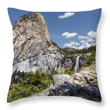 Liberty And Nevada Throw Pillow