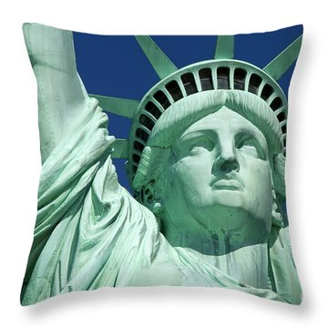 Liberty Throw Pillow by Brian Jannsen
