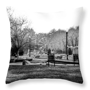 Liberty Park Throw Pillow by Tarey Potter
