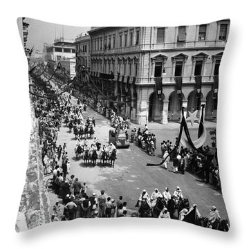 Libya Independence 1951 Throw Pillow by Granger