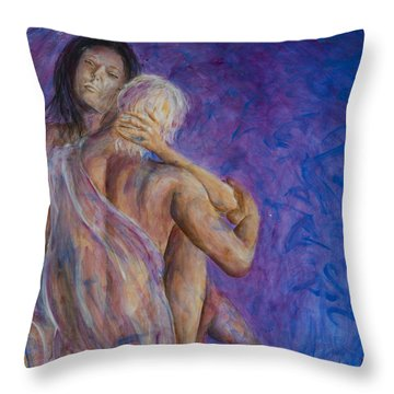 Liebestraume Throw Pillow by Nik Helbig
