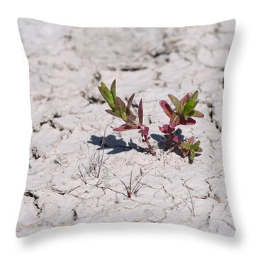 Life Against All Odds Throw Pillow