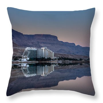 Life At The Dead Sea Throw Pillow