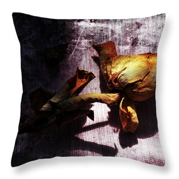 Life Ended Throw Pillow by Randi Grace Nilsberg