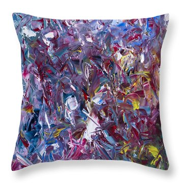 A Thousand And One Paintings Throw Pillow