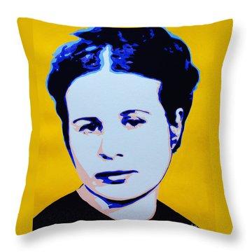 Life In A Jar. Irena Sendler Throw Pillow