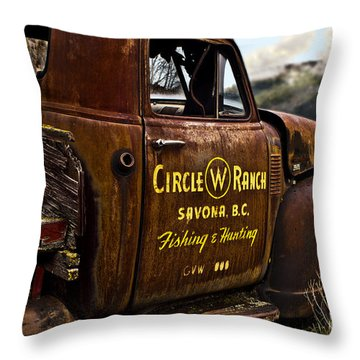 Life In The Past Lane Throw Pillow by Sandi Mikuse