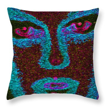 Throw Pillow featuring the mixed media Life Is A Dance by Carl Hunter