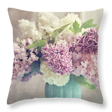 Life Is A Promise Throw Pillow by Sylvia Cook