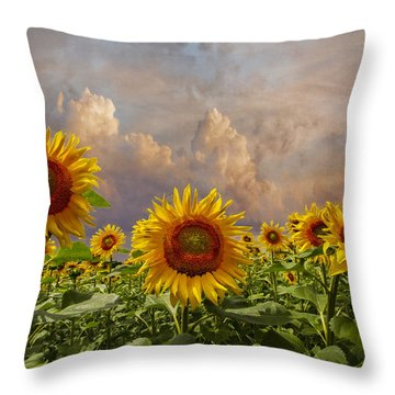 Life Is Good Throw Pillow by Debra and Dave Vanderlaan