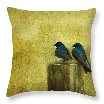 Life Long Friends Throw Pillow