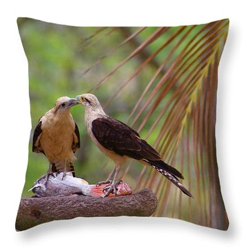 Life Mates Throw Pillow