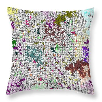 Life 'n Flux Throw Pillow
