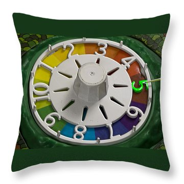 Life Number 5 Throw Pillow by Kellice Swaggerty