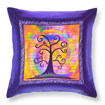 Life Of Perfect Health Throw Pillow