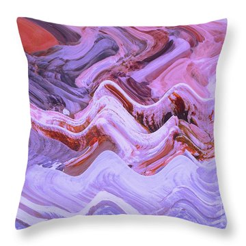 Life On Mars				 Throw Pillow by Ann Johndro-Collins