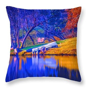 Life Swing 2 Throw Pillow