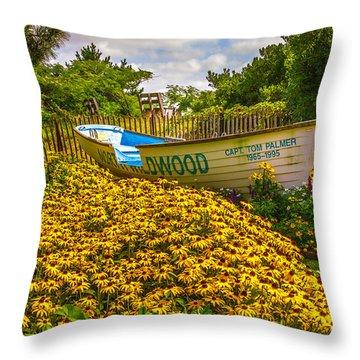 Lifeboat Throw Pillow