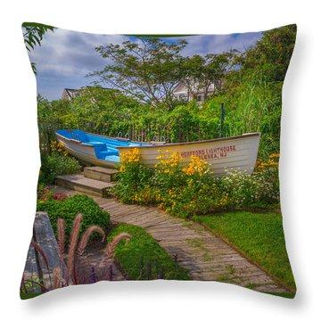 Lifeboat Seating Throw Pillow