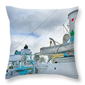 Lifesavers Throw Pillow by Betsy Knapp