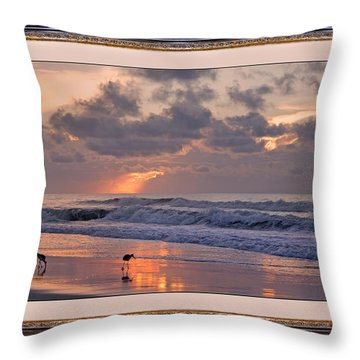 Lifetime Love Throw Pillow by Betsy Knapp