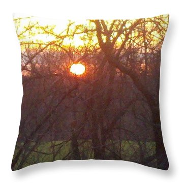 Light At Sunrise Throw Pillow